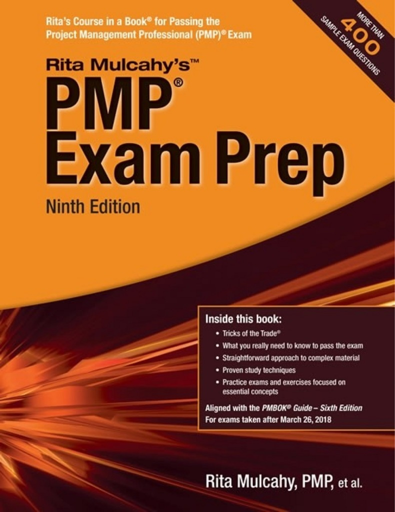 Books Project Management Pmp Certification Pmp Exam Prep